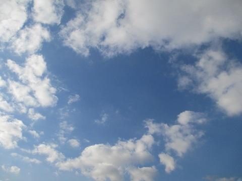 なんてクリアな空!
