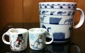 右のマグカップはごくごく普通サイズです!