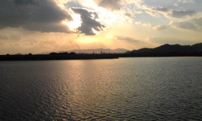 笠岡港の入江