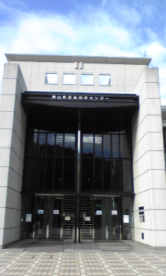 荘厳な雰囲気の岡山免許センター