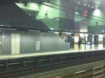 夜の京都駅です