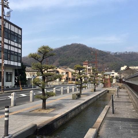 笠岡の中心部です