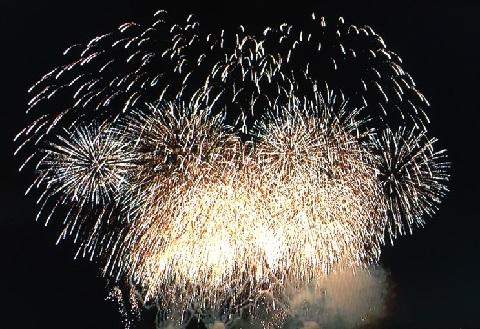 笠岡の花火!