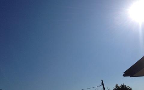 日中はまだまだ暑さが!
