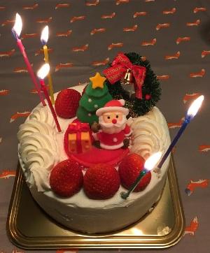 岡山白十字のケーキ
